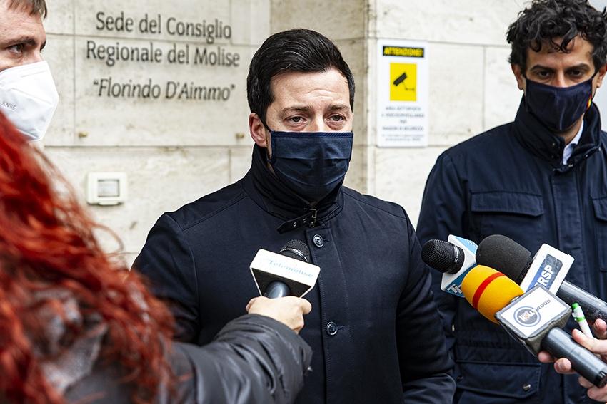 Conferenza stampa Movimento 5 stelle Campobasso 21/12/2020